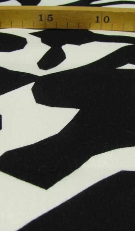 Zwart wit fantasie Gossypium