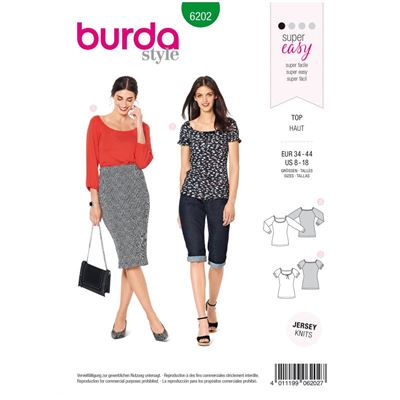 Burda patroon 6202 shirt