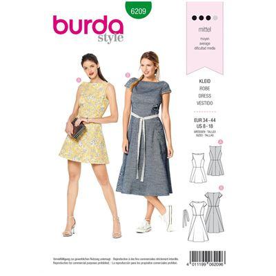 Burda patroon 6209 jurk
