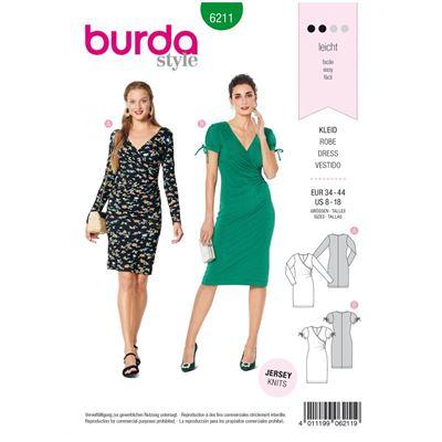 Burda patroon 6211 jurk
