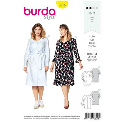 Burda patroon 6215 jurk