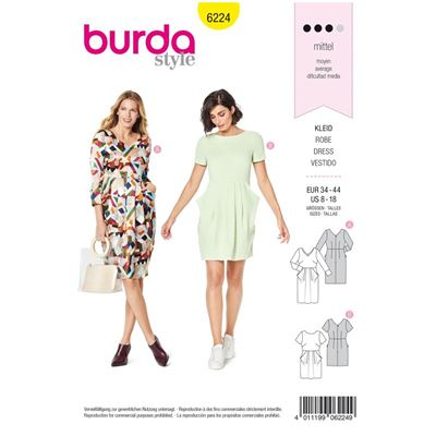 Burda patroon 6224 jurk