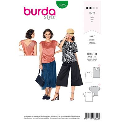Burda patroon 6225 blouse