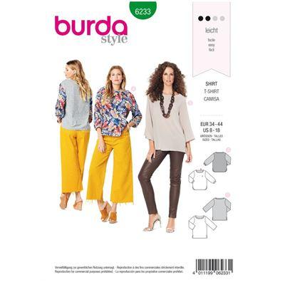 Burda patroon 6233 blouse