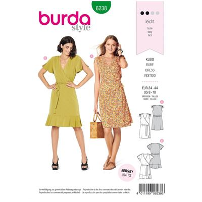 Burda patroon 6238 jurk
