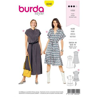 Burda patroon 6240 jurk