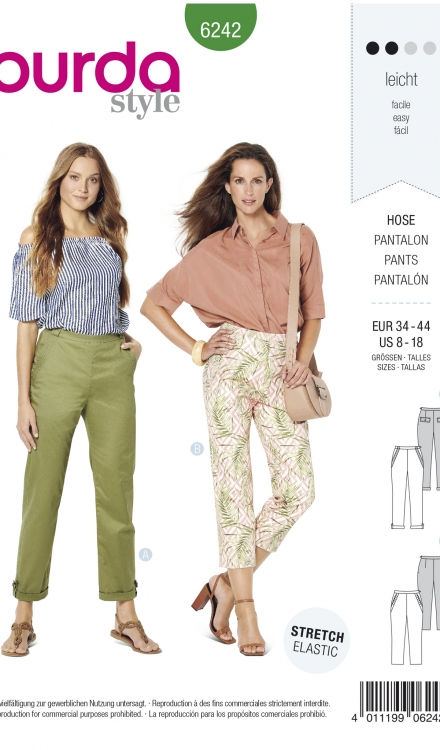 Burda patroon 6242 pantalon