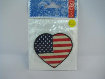 Applicatie hart Amerikaanse vlag