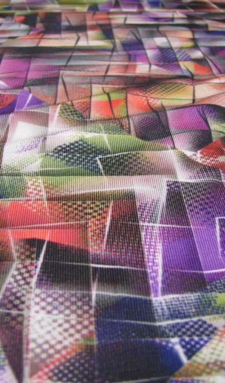 Dunne tricot blokje verschillende kleuren Arella