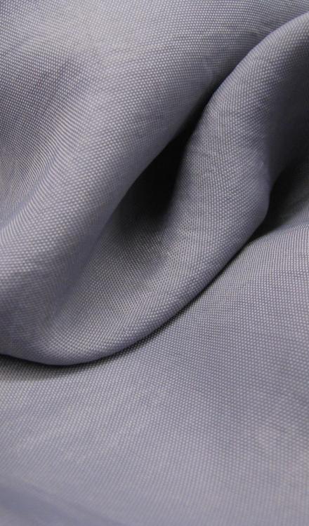 Nylon grijs blauw uni