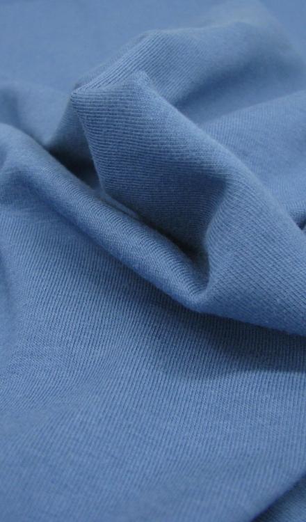 Tricot uni blauw