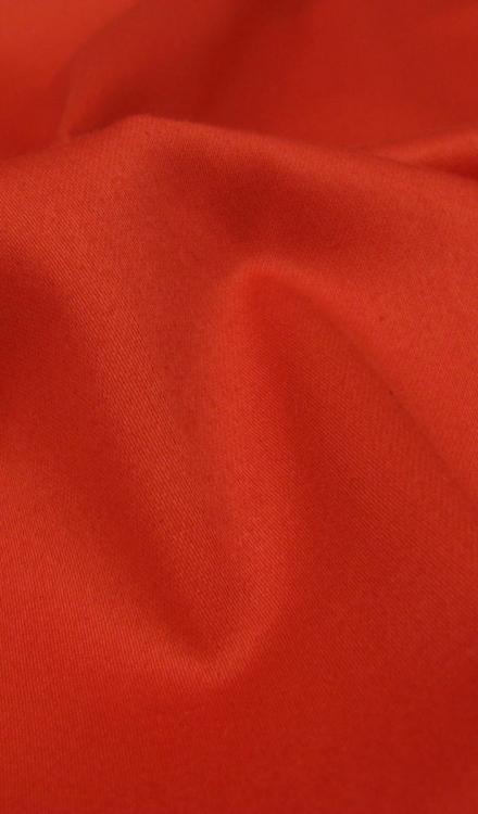 stretch katoen rood