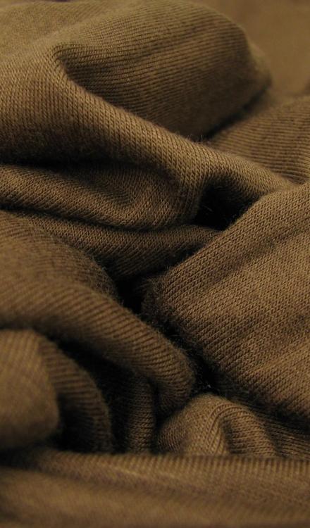 Tricot bruin Rijs