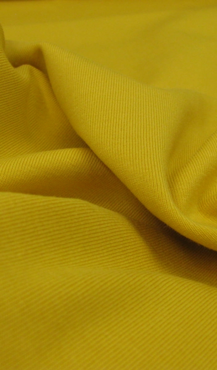 Tricot uni geel