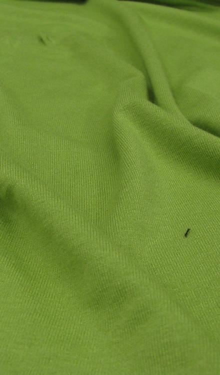 Tricot uni groen Arella
