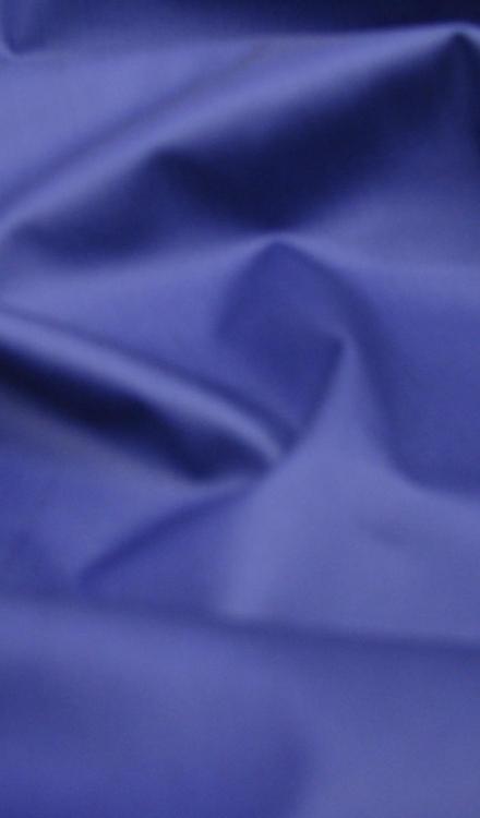 Katoen waterafstotend uni kobalt Polytex