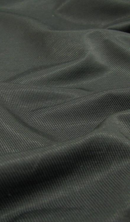 Katoen nylon uni zwart