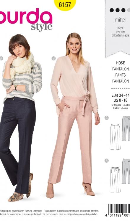 Burda patroon 6157 pantalon