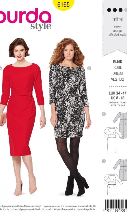 Burda patroon 6165 jurk