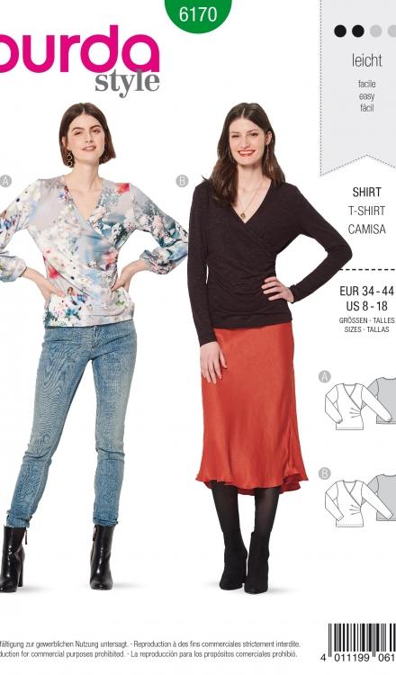 Burda patroon 6170 shirt