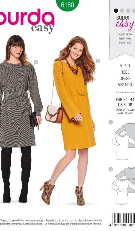 Burda patroon 6180 jurk