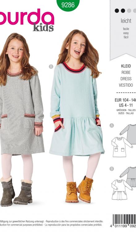 Burda patroon 9286 jurk