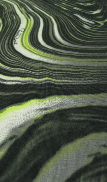Tricot grijs groen Gossypium