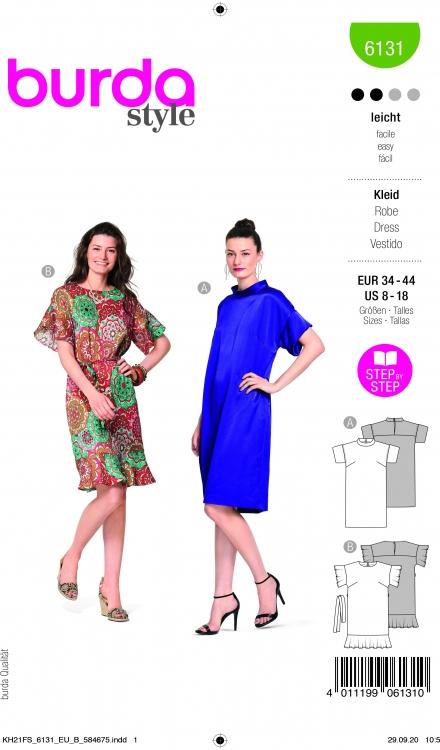 Burda patroon 6131 jurk