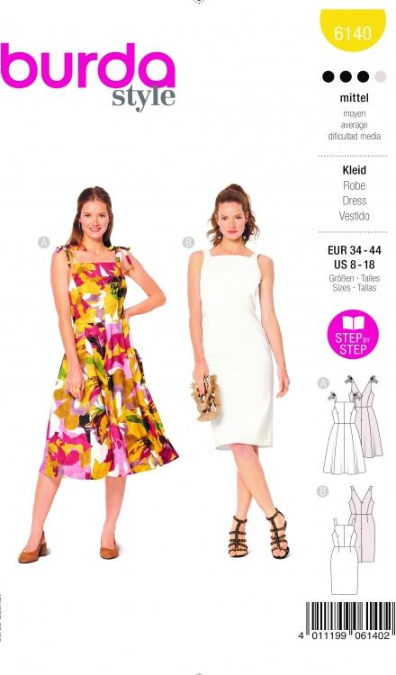 Burda patroon 6140 jurk