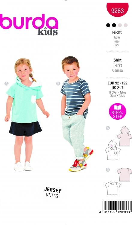Burda patroon 9283 shirt